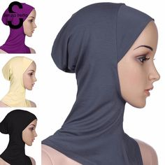 Fashion Cotton Hijabs for Islamic Women Hijabs, Islamic, Traditional, Free Shipping, Cotton, How To Wear, Stuff To Buy, Clothes, Women