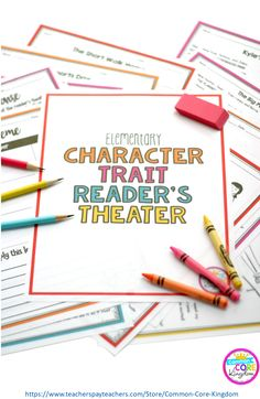 Reader's Theatre scripts that teach character traits through lessons learned from characters in the plays. This is a fun way to teacher character education to elementary students in 2nd-5th grade. There are also reader's response sheets that can be used for all ten scripts. Perfect to emphasize a growth mindset while also practicing fluency and speaking and listening!