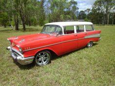 1957 Chevrolet Belair Station Wagon | eBay