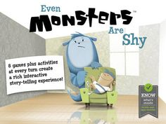 Even Monsters Are Shy by Busy Bee Studios   Review + Giveaway