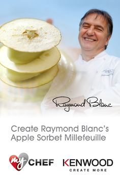 Re-create Raymond Blanc's delicious Apple Sorbet Millefeuille for a showstopping dessert