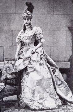 Consuelo Marlborough (née Vanderbilt), dressed for the Devonshire House Ball in 1897.