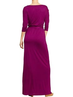 Old Navy | Women's Belted Jersey Maxi Dresses