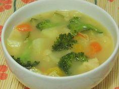 Sopa de Legumes com Cenoura e Salsão para Secar a Cintura!