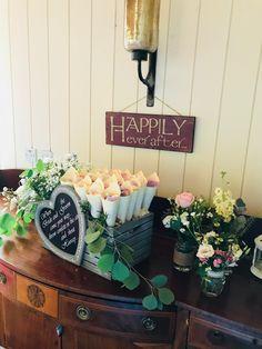 Flower Petal Wedding Confetti Cone Box Arrangement Confetti Cones, Flower Petals, Flowers, Dusty Rose Wedding, Wedding Confetti, Table Decorations, Box, Home Decor, Snare Drum