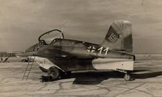 A look at the oddest aircraft of the Luftwaffe. Luftwaffe, Ww2 History, Military History, Modern History, Ww2 Aircraft, Fighter Aircraft, Military Jets, Military Aircraft, Fighter Pilot