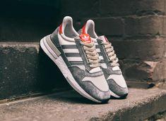 ed963aeed Retrouvez notre avis sur la chaussure Adidas ZX 500 RM OG Grey Four White  Scarlet