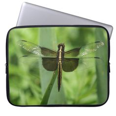 Widow Skimmer neoprene Laptop Sleeve.