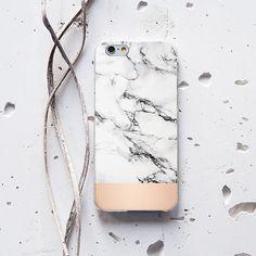 IPhone mármol blanco mármol teléfono caso iPhone 6 por WolfCases