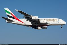 A6-EEZ Emirates Airbus A380-861