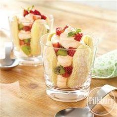Strawberry Kiwi Orange #Mousse from Pillsbury® Baking