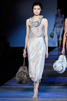 Dasha's fashion: Giorgio Armani spring-summer 2012