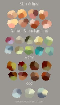 Color Swatches by NiveousArt                                                                                                                                                                                 More