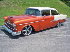 1955 Chevrolet Bel Air offered for auction | Hemmings Motor News