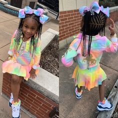 for more fantastic pins 💪🏼🎀 Little Girl Swag, Cute Little Girls Outfits, Kids Outfits, Toddler Outfits, Black Kids Fashion, Cute Kids Fashion, Little Girl Fashion, Cute Black Babies, Black Baby Girls