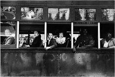Trolley, New Orleans. Robert Frank. 1956