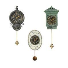 Pendulum clocks by jaclyn