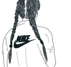 Nike and braids ❤ - image #3611023 by Bobbym on Favim.com