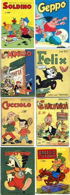 giornalini_bambini Vintage Books, Vintage Posters, Childhood Days, Comedy Films, Old Signs, Vintage Cartoon, Comic Movies, Lectures, Vintage Italian