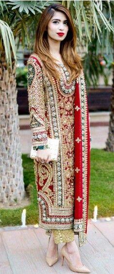 Pakistani dress, #Pakistani couture.
