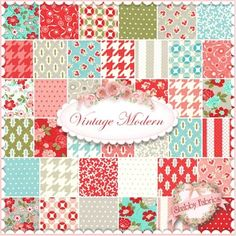 Vintage Modern Charm Pack by Bonnie & Camille for Moda Fabrics