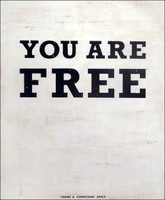"""""""So if the son sets you free, you will be free indeed."""" -John 8:36"""