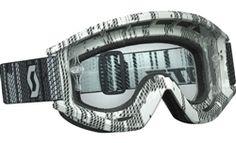 2014 Scott Recoil Xi Pro Matrix Clear Works Dirt Bike Off-Road Motocross Goggle