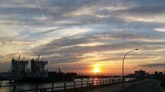 #Hamburg #Hafen #Sonnenuntergang #Sunset