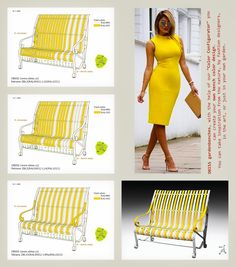 """OBISS metal benches in colors according to your color design.  With the help of our """"Color configurator"""", you can create your own bench color design.  You can take inspiration... We produce design metal benches that will attract your attention : - they are comfortable and flexible thanks to pre-tensioned slats - are original and invite you to creativity with their colors - are maintenance-free with year-round use - 15 years of experience stands for proven quality, 5 years guarantee… The Help, New Fashion, Bench, Palette, The Originals, Metal, Fashion Design, Color, Palette Table"""
