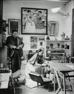 Frida Kahlo et Diego