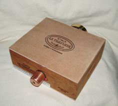 Image Wheel Kaleidoscope Cigar Box by wrightmade on Etsy, $65.00