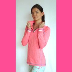 Sudadera REPEL coral o rosa - #ropadeportiva #deporte #training #activelife