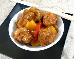 Beignets de porc aigre doux Cata, Beignets, C'est Bon, Chinese, Ethnic Recipes, Sweet, Outlander Recipes, Pork, World