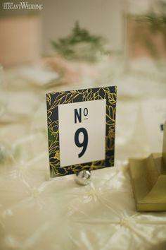 Natural wedding table number, wedding stationery WHIMSICAL SUMMER WEDDING IN ONTARIO www.elegantwedding.ca