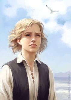 Joanna Picture  (2d, illustration, girl, woman, portrait)