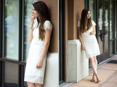 lacey dress DIY with pattern & instructions