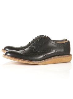 "Topman Smart Shoes / Ben Sherman ""Movg"" Brogues   http://tpmn.co/VO4QNM"