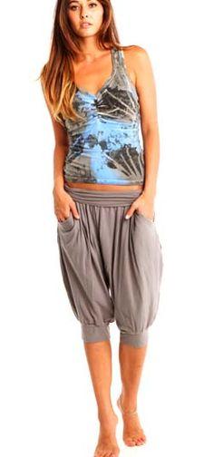 Barefoot Yoga Co. | OMgirl br Tranquility Capri