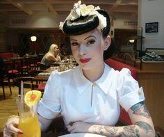 Custom made Cora 1930s cuff blouse in vintage by nudeedudee, $145.00