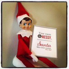 Elf on the Shelf..I'm printing these