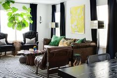 One Sofa, Styled Six Different Ways