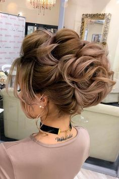 See our collection of gorgeous updo hairstyles if you are planning to attend a wedding ceremony as a bridesmaid soon!