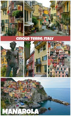 Manarola - Cinque Terre, Italy | Find out what you need to put this adorable village on your list of places to visit along the Italian Riviera