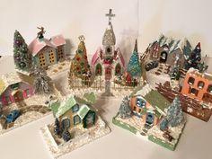 Putz Village for Christmas 2015