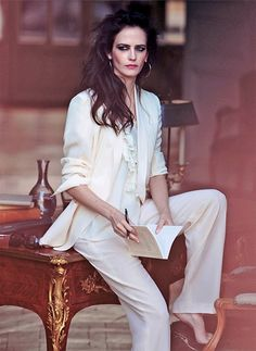 """Eva Green reads in """"A True Modern Classic"""" for The Edit Magazine, May 2014."""