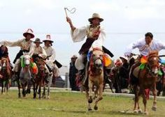 Chinese Tibetan Naqu Horse Racing.#Tibet