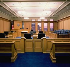 Courtroom, Sioux Falls, South Dakota U.S. Courthouse.  We have a preserved legacy of buildings that reflect the nation's strength, spirit & imagination. See for yourself http://go.usa.gov/8Qgw