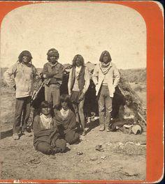 Maricopa Indians by Charles Roscoe Savage (or Tolkepaya local band?)