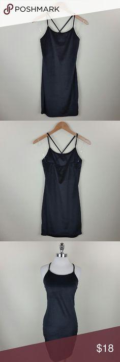 Velvet x back strap dress Velvet x back strap black dress Content 100% polyester Dresses Mini