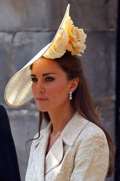 Kate Middleton's hat is stunning... and Kentucky Derby worthy.